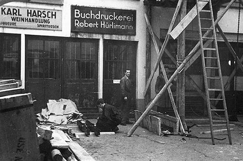Druckerei Robert Hürlimann Geschichte