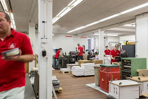 älteste Druckerei In Zürich Nahe Bellevue Seit 1896 Für
